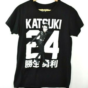 Yuri!!! On Ice Katsuki 24 Anime T-Shirt